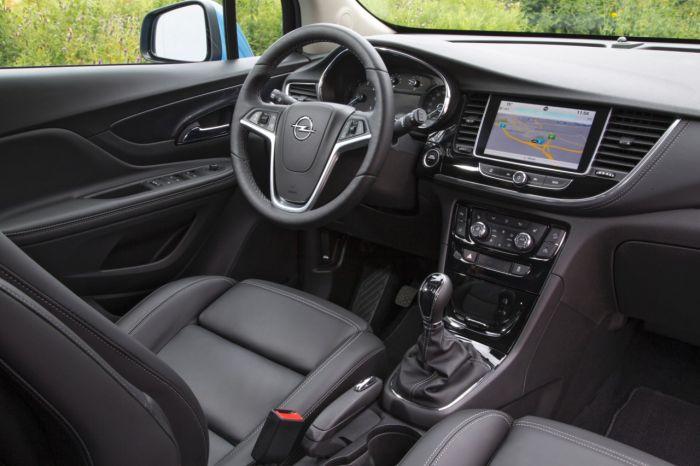 Opel Mokka X interier