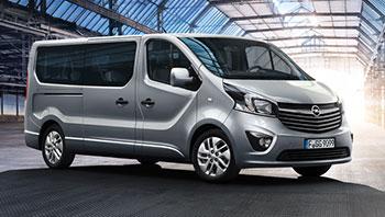 Úžitkové vozidlá Opel