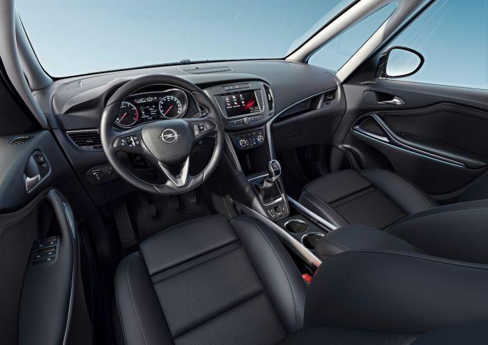 Opel Zafira interier