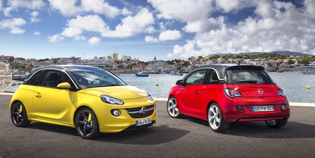 Skladové vozidlá Opel