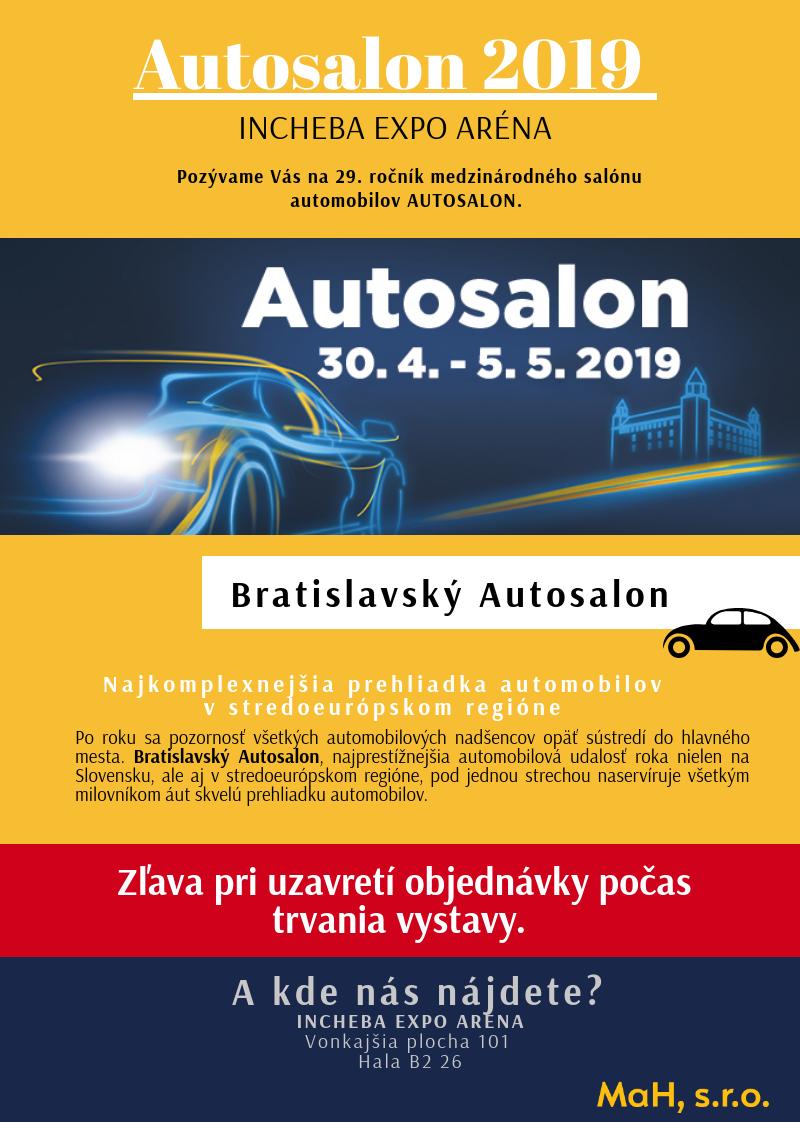 Autosalon Bartislava 2019